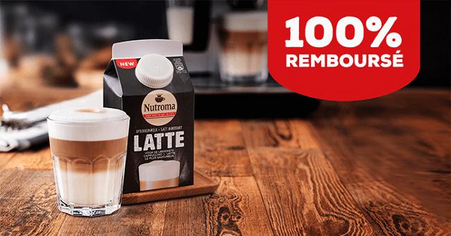 Nutroma Latte 100 Remboursé Echantillons Gratuits En