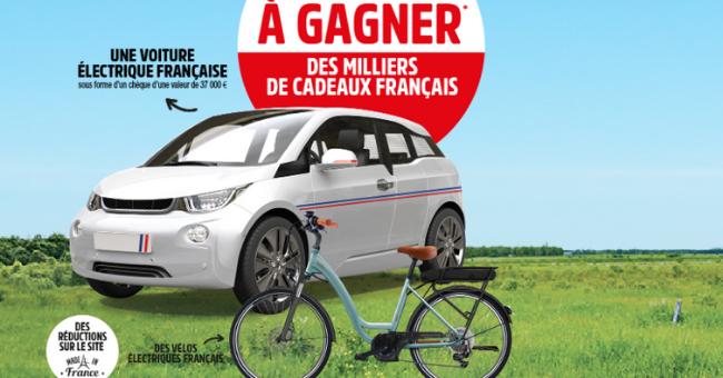 En jeu: 1 chèque bancaire de 37000€ et 30 vélos à assistance électrique O2Feel 26''