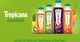 1 mois gratuit de jus Tropicana Essentials