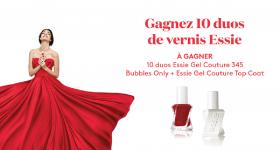 10 duos de vernis Essie à REMPORTER !
