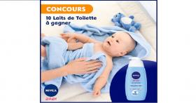 Un lait de toilette Nivea Baby à GAGNER