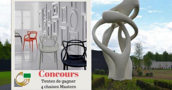 Remportez 4 sublimes chaises de créateurs !