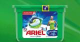 25 paquets Ariel Pods+ Active offerts
