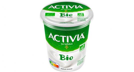 100% remboursé: 1 pot Activia Bio Nature 460g