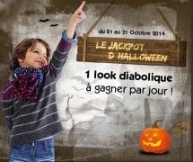 1 look pour Halloween à gagner tous les jours !