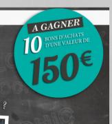 Gagnez 10 bons d'achat 3pommes de 150 € pour la rentrée !