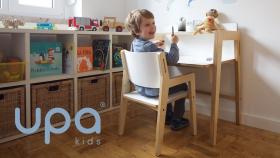 En jeu : 1 ensemble évolutif « bureau et chaise » UPA Kids de 549€