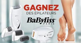 Remportez un Épilateur Babyliss !