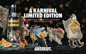 Avec ABSOLUT gagnez 50 bouteilles Edition Karnival