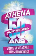 Produit Athena : votre deuxième achat est 100% remboursé