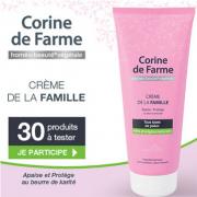 Beauté test : la Crème Hydratante de la Famille de Corine de Farme