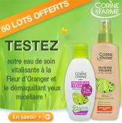 Beauté Test : testez un Duo de produits visage Corine de Farme
