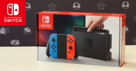 En jeu : 1 console Nintendo Switch
