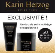 Testez un duo Soins Visage Anti-âge Karin Herzog!