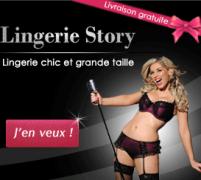 Lingerie Story : Code promo + 1 surprise + frais de livraison offerts