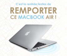 1 MacBook Air à remporter