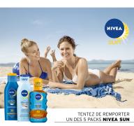 Obtenez  votre pack Nivea Sun gartuitement