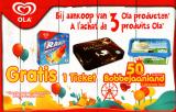 Un ticket gratuit pour Bobbejaanland  à l'achat de 3 produits Ola