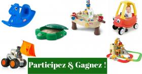À GAGNER: Un Pack de Jouets Little Tikes