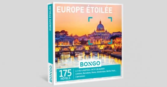 A gagner : 3 coffrets bongo Europe Étoilée