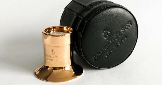 Offerte : une loupe d'horloger Arnold & Son