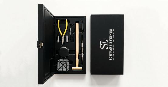 En jeu : 1 boîte à outils Schwarz Etienne