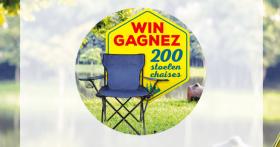 En jeu : 200 chaises de camping avec Panzani