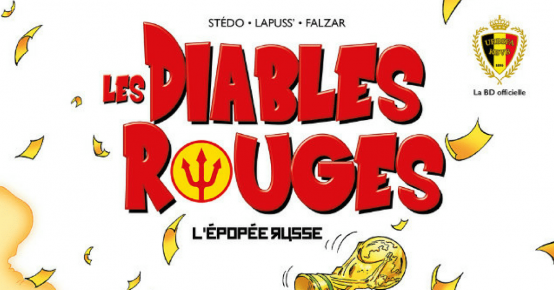 """En jeu : 30 BD les Diables Rouges """"L'épopée russe"""""""
