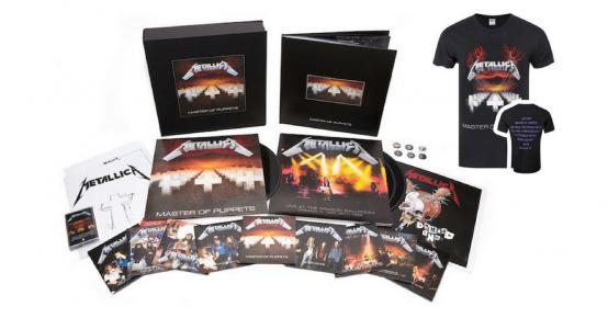 A gagner : 1 coffret CD/DVD/vinyle de Metallica et+