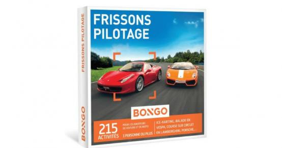 Un Bongo Frissons Pilotage offert !