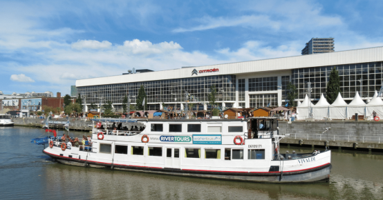 10x 2 tickets croisières Brussels By Water à remporter !
