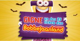 25 tickets duo Halloween à Bobbejaanland à GAGNER !