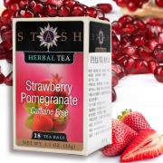 Thé fraise & grenade Stash à tester gratuitement