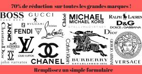 Vite.. 70% de réduction chez Showroom Privé sur toutes les grandes marques !