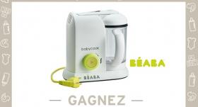 Gagnez le nouveau robot Babycook Néon de BEABA