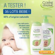 Beauté Test : Essayez les produits pour bébés de Corine de Farme
