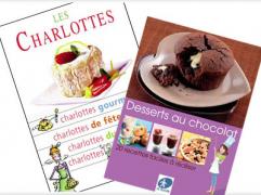 Brochures GRATUITES de recettes de dessert!