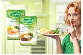 La sauce Campina GRATUITE chez Carrefour Market et Champion