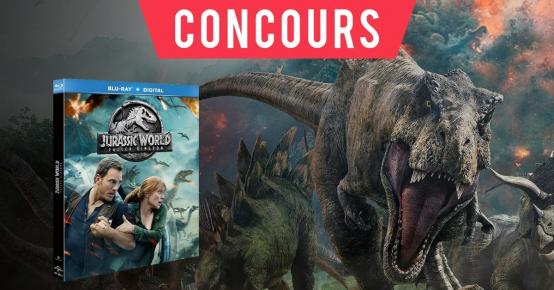 Offert : Blu-Ray Jurassic World «Fallen Kingdom»