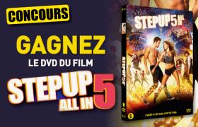 Gagnez le DVD du film «Step up 5»