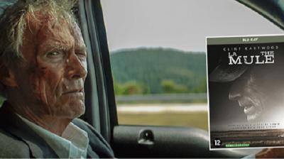 En jeu : Le Blu-Ray ou le DVD du film «La Mule»