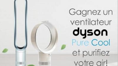 A gagner : un ventilateur Dyson Pure Cool
