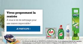 30 kits de nettoyage offerts (Swiffer, Ambi Pur, Dreft)