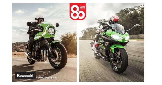 A gagner: 80'000€ de cadeaux (Motos Kawasaki, voyages, accessoires…)