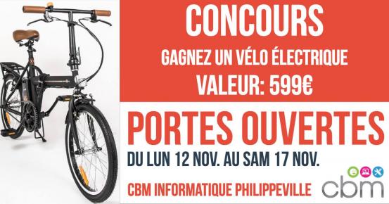 Un vélo électrique de 599€ offert