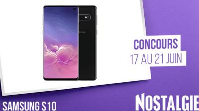Un Samsung Galaxy S10 offert!