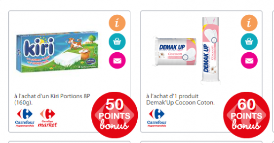 Coupons de réduction Carrefour !