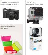 1 appareil photo Nikon, 1 Gopro et de nombreux lots à gagner !