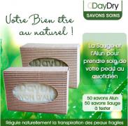 Testez le Savon Soin anti-transpirant DayDry de votre choix !