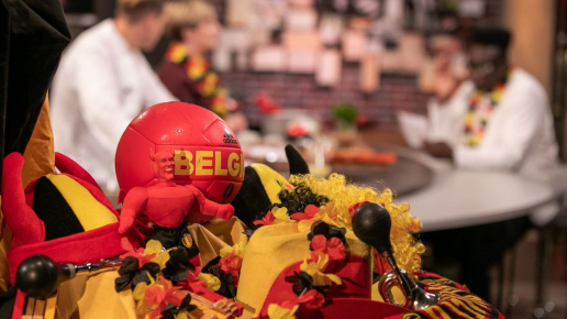 Un ensemble de goodies des Diables Rouges offert